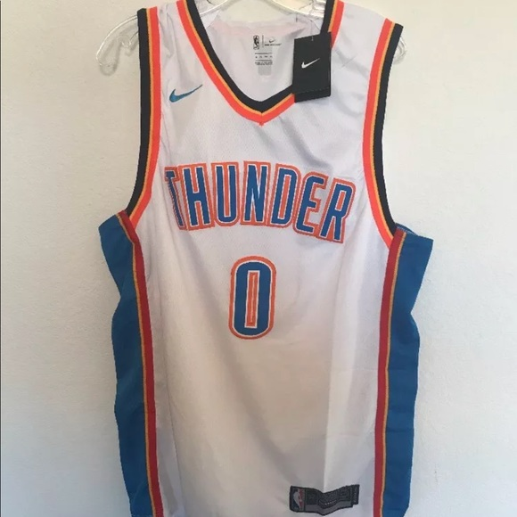 the best attitude 99c3d 48678 Russell Westbrook OKC thunder swingman Jersey NWT